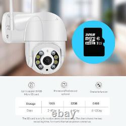 HD 1080P IP Camera Outdoor WiFi PTZ CCTV Security Wireless Smart Home IR Cam US
