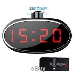 Hd Mini Kamera Spy Cam Tisch Uhr Bewegungsmelder Spionage Spion Versteckte A36