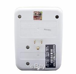 Hidden Wall Outlet Adapter Nanny Spy Cam Motion Detection Activated DVR Audio