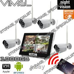 Home Security Cameras System 1TB IP Wireless WIFI IP Room Cam Farm House