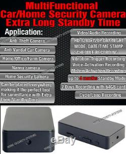 Home Video Camera Wireless HD Mini Micro Nanny Room Cam Car Anti Theft