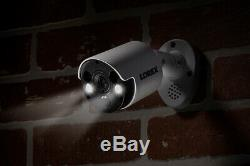Lorex 8MP IP security camera system 8 4K (8MP) active deterrence IP Cam