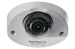 Lorex LND4751AB Mini Audio HD IP 2K Metal Dome Security Cam 150ft CNV