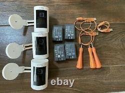 Lot of 3 Ring Stick Up Cam Indoor/Outdoor HD Security Cameras (2nd Gen Battery)