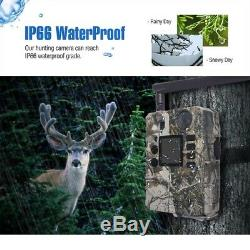 Mobile AT&T 4G Cellular Trail Camera 18MP HD Video Game hunting security Cams US
