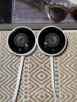 NEST Cam Outdoor Smart Security Camera (2-Pack) NC2400ES