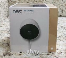 NEST Cam Outdoor Smart Security Camera Model NC2100ES Sealed NEW
