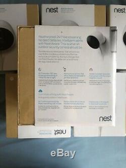 NEW Google Nest Cam Outdoor Weatherproof 1080p Wi-Fi Security Camera