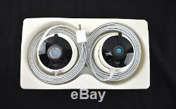 NEW OPEN Nest Cam Outdoor Security Camera 2-Pack NC2400ES -JEM3250
