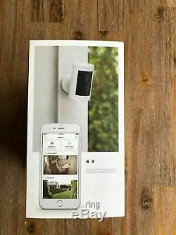 NEW Ring Stick Up Cam Indoor/Outdoor Security Camera (White, Battery) FAST SHIP