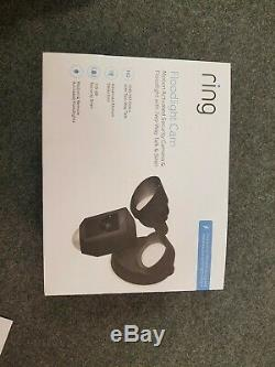 NIB NEW & SEALED Ring Floodlight Camera Motion-Activated HD Security Cam NEW