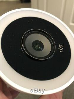 Nest Cam IQ 2 Pack Outdoor Smart WiFi Security Camera Never Used