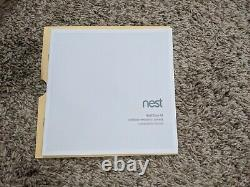 Nest Cam IQ Outdoor Smart Wi-fi Wireless Camera White (NC4101US)