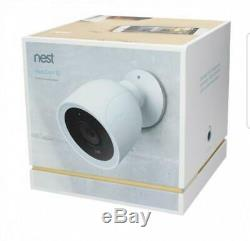 Nest Cam NC4100US IQ Outdoor Security Camera Pro 4K Sensor 12X Streaming HD