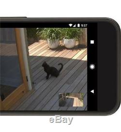 Nest Cam NC4101US IQ Outdoor Security Camera Pro 4K Sensor 12X Streaming HD