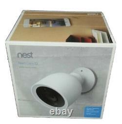 Nest/Google Cam IQ Outdoor Weatherproof Wi-Fi Security Camera NC4101US BRAND NEW
