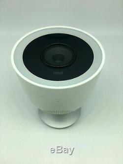 Nest IQ Cam NC4100US Wireless Outdoor Security Camera White