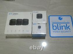 New Blink 5 Camera System 4 Outdoor Battery Powered Cameras 1 Mini Cam Yard Sign