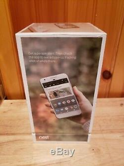 New Google Nest Cam IQ Indoor HD Wi-Fi Home Security Camera NC3100US NEWithSEALED