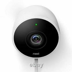 OPEN BOX Google Nest Outdoor Security Camera Cam-White-NC2100ES-SAME DAY SHIP