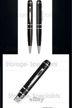 Pen Camera Ultra XHD 160GB High Quality Video 2K 1296P Body Cam