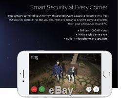 RING Spotlight Cam-240V Wi Fi Camera with Built in Siren & Floodlights-FREE POST