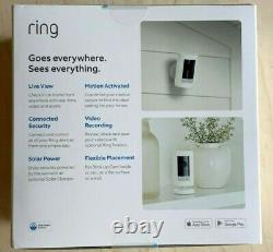RING Stick Up Cam Battery HD Security Cam (3rd Gen) with 2-way Talk, NEW & SEALED