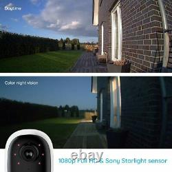 Reolink 1080P WiFi IP Security Camera Argus 2 Rechargeable Battery Powered with