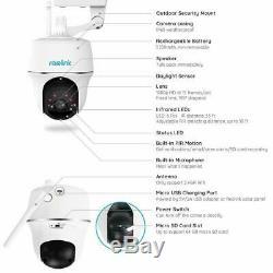 Reolink Argus PT WIFI Security Camera PIR 1080P Battery Pan Tilt Outdoor/Indoor