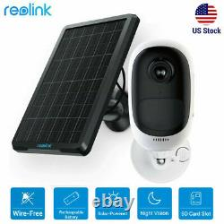 Reolink Argus Pro Wireless Security IP Camera HD 1080P Rechargeable+ Solar Panel