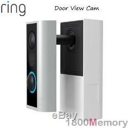 Ring Door View Cam Peephole Video 1080p Wireless Security Camera 2 Way Audio