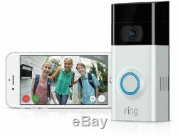 Ring Doorbell 2 Security Cam BRAND NEW FACTORY SEALED