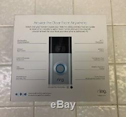Ring Doorbell 2 Security Cam BRAND NEW FACTORY SEALED + Free Priority Shipping