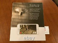 Ring Floodlight Camera Motion-Activated HD Security Cam 2-Way Talk, White, Alexa