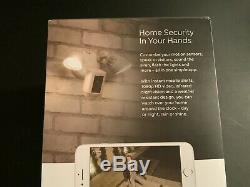 Ring Floodlight Camera Motion HD Security Cam White Alexa Certified Refurbished