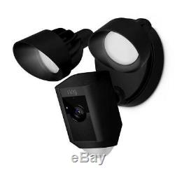 Ring Floodlight Motion Activated Security Cam (Black)