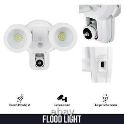 Ring Floodlight Mount with Ring Stick Up Cam Battery Bundle Deal Camera, 2 Pack