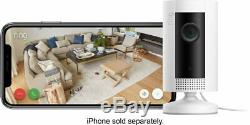 Ring Indoor Cam Wi-Fi Security Camera 1080p Motion Activated, Works with Alexa