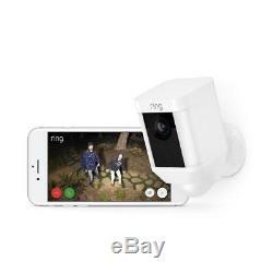 Ring Security Camera Surveillance Cam Wireless Solar Power Alarm Spotlight WiFi