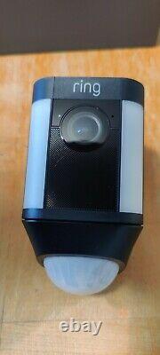 Ring Spotlight Cam Battery Black