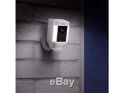 Ring Spotlight Cam Battery HD Security Camera with Built Two-Way Talk and a