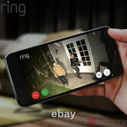 Ring Spotlight Cam Battery Wireless HD 1080p Outdoor Security Video Camera White