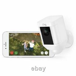 Ring Spotlight Cam HD Security Camera with Two-Way Talk & Siren Work with Alexa