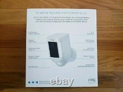 Ring -Spotlight Cam Wire-free Battery HD Security Camera Outdoor NEW SEALED