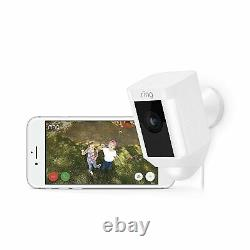Ring Spotlight Cam Wired HD Security Camera with built-in Spotlights