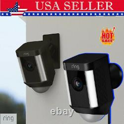 Ring Spotlight Cam Wired Plugged-in HD Security Camera with Two-Way Talk & Alexa