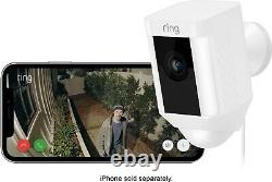 Ring Spotlight Cam Wired Plugged-in HD Security Camera with Two-Way Talk & Siren