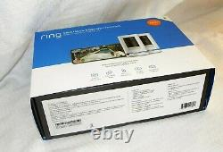 Ring Stick Up Cam Battery HD Security Camera with 2-Way Talk (2-Pack) White NEW