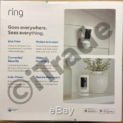 Ring Stick Up Cam Battery Indoor/Outdoor 1080HD 2-way talk Night Vision White FS