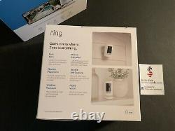Ring Stick Up Cam Battery Powered Indoor Outdoor Camera 2-camera Bundle NEW